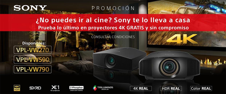 Sony proyectores 4K